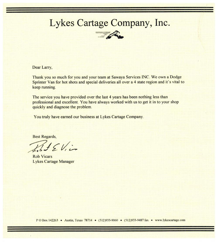 Lykes Cartage